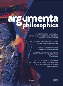 Argumenta philosophica 2019 - Vol. 1