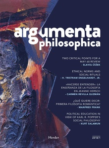 Argumenta Philosophica 2018 - Vol. 1