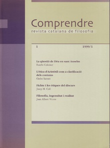 Comprendre Vol I 1999. 1