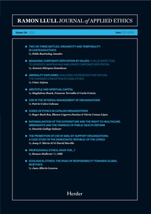 Journal of Applied Ethics - issue 04